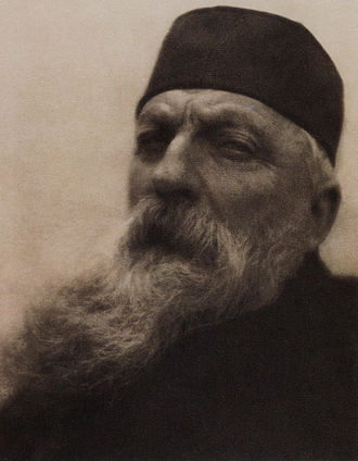 "Alvin Langdon Coburn - ""Rodin"", by Alvin Langdon Coburn. Photogravure published in Camera Work, No 21, 1908"