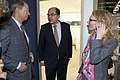Ambassador John B. Emerson, German Agriculture Minister Christian Schmidt, and Kelly Stange, Green Week 2015.jpg
