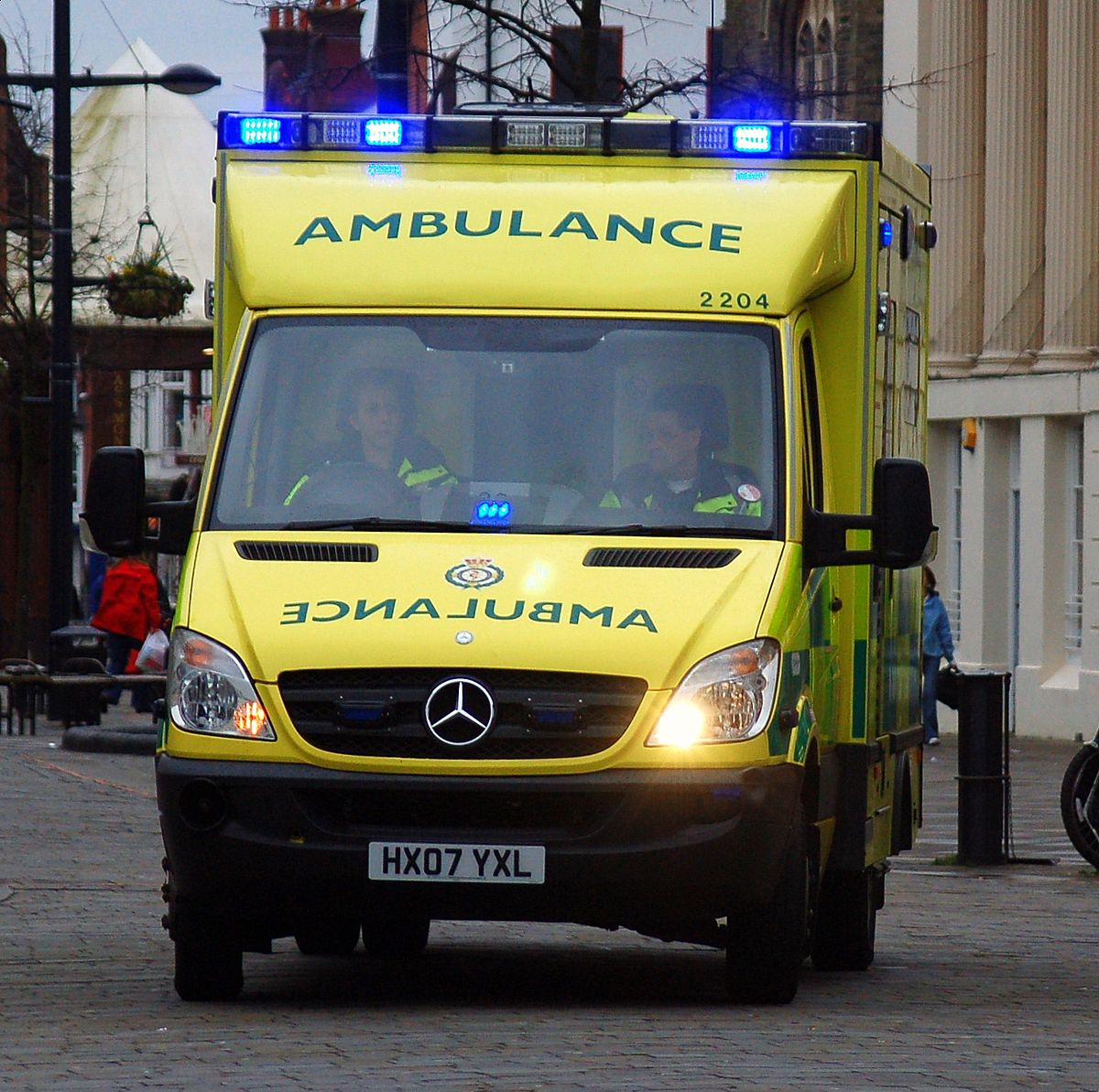 Emergency medical services in the United Kingdom - Simple