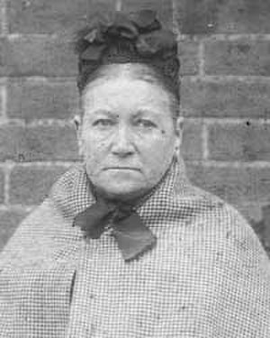 Amelia Dyer - Police photo of Dyer after being arrested in 1896