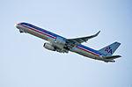 American Airlines, Boeing 757-223 (WL), N609AA - LAX (18306125856).jpg
