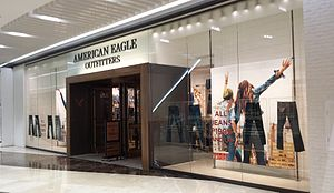 American Eagle Outfitters - An American Eagle Outfitters store in the mall SM Aura Premier in Bonifacio Global City, Metro Manila, Philippines