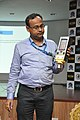 Amitava Akuli Demonstrates CDAC Handheld Electronics Nose - NCSM - Kolkata 2018-04-23 0296.JPG