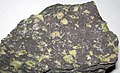 Amygdaloidal basalt (Portage Lake Volcanic Series, upper Mesoproterozoic, 1.093 to 1.097 Ga; Keweenaw Peninsula, Upper Peninsula of Michigan, USA) 2.jpg