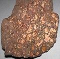 Amygdaloidal basalt (Two Harbors Basalts, North Shore Volcanic Series, Mesoproterozoic, 1097-1098 Ma; Burlington Bay, Two Harbors, Minnesota, USA) 1.jpg
