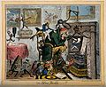 An ill man next to his empty hearth tormented by the miserie Wellcome V0011143.jpg