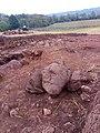 Ancrum mantle walls under excavation in Sept 2019.jpg