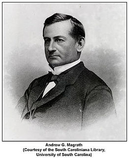 Andrew Gordon Magrath American politician, lawyer and judge