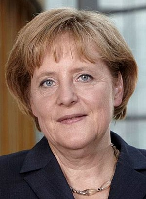 German federal election, 2009 - Image: Angela Merkel 2009a (cropped)