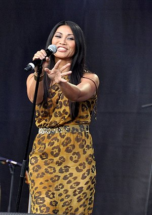 X Factor Indonesia - Anggun is one of the judges in the first season.