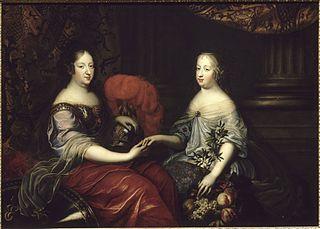 Anne d'Autriche et Marie-Thérèse d'Autriche, reines de France