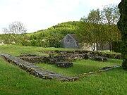 Le rovine del monastero di Annegray