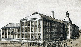National Register of Historic Places listings in Calhoun County, Alabama - Image: Anniston Manufacturing Company Cotton Mill Anniston, AL 1887