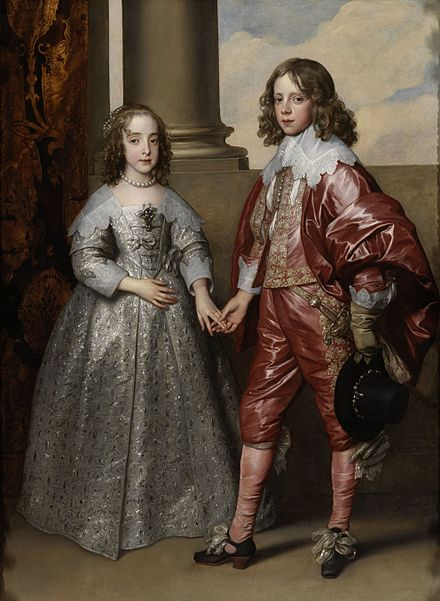 Betrothed William and Mary by Anthony van Dyck, 1641 Anthonis van Dyck 036.jpg