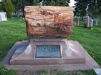 Anthony W. Ivins - Image: Anthony W Ivins Grave