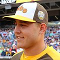Anthony Rizzo during the T-Mobile -HRDerby. (28291312930) (cropped).jpg