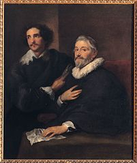 Portrait of the engravers Pieter de Jode the Elder and Pieter de Jode the Younger