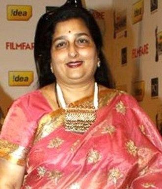 Anuradha Paudwal - Image: Anuradha Paudwal 57th Idea Filmfare Awards 2011