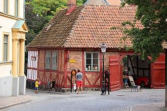 Ystad - Image: Apotekshusen i Ystad