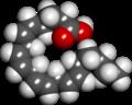 Arachidonic acid spacefill.png