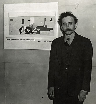 Ilya Bolotowsky - Ilya Bolotowsky in 1938, from the Archives of American Art