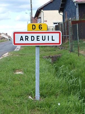 Ardeuil-et-Montfauxelles - Entrance to Ardeuil