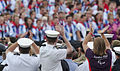 Armed Forces Taking Part in 'Our Greatest Team' Parade in London Following the Olympics MOD 45155597.jpg
