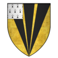 Arms of Sir Hugh de Wrottesley, KG.png