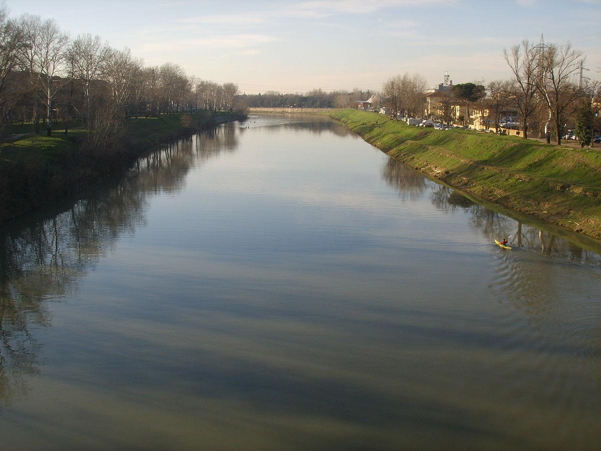 Fiume wikipedia - Letto di un fiume ...