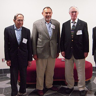 ADM formalism - Richard Arnowitt, Stanley Deser and Charles Misner at the ADM-50: A Celebration of Current GR Innovation conference held in November 2009 to honor the 50th anniversary of their paper.