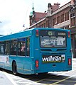 Arriva bus 4509 Volvo B10BLE Wrightbus Renown V509 DFT in Newcastle 9 May 2009 pic 2.jpg