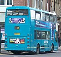 Arriva bus 7391 Scania N113 East Lancs Cityzen N391 OTY in Newcastle 9 May 2009 pic 2.jpg