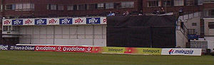 Sussex County Cricket Club - The Arthur Gilligan stand at Hove