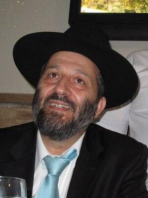 Shas - Aryeh Deri, chairman of Shas
