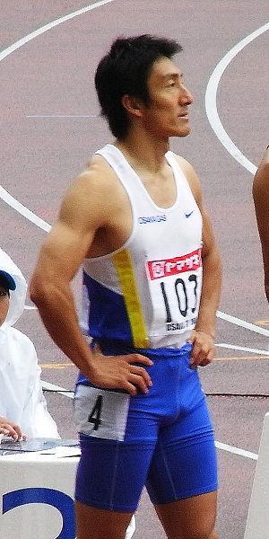 Athletics at the 1997 East Asian Games - Japan's Nobuharu Asahara won the 100 m gold.