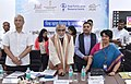 Ashwini Kumar Choubey launching a food fortification website, at the National Conclave on Nutrition Security Partnership & Convergence', organised by the Food Safety and Standards Authority of India (FSSAI).jpg