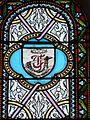 Assais-les-Jumeaux église Jumeaux vitraux choeur armoiries (1).JPG