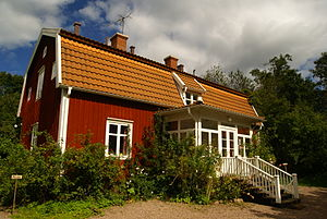 English: The home of Astrid Lindgren during he...