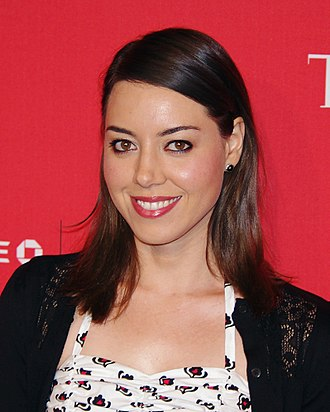 Ron Swanson - Ron hires April Ludgate (Aubrey Plaza, pictured) as his assistant, and he becomes a father figure to her.