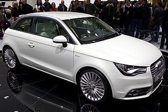 Audi A1 - Audi A1 e-tron