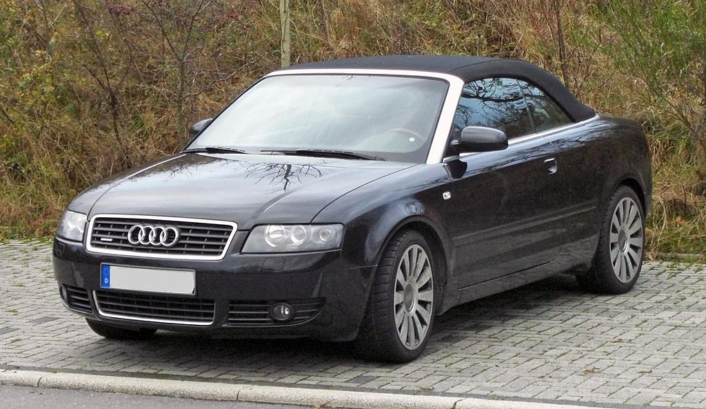 Fileaudi A4 B6 Cabriolet 20022006 Front Mjg Wikimedia Commons