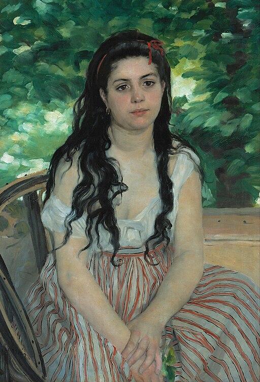 Auguste Renoir - En été - La bohémienne - Google Art Project