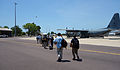 AusMAT departure from Darwin C130 13 Nov (10865093255).jpg