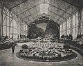 Ausstellung in der nördlichen Blumenhalle. Gestaltung Ludwig Winter aus Bordighera, Italien.jpg
