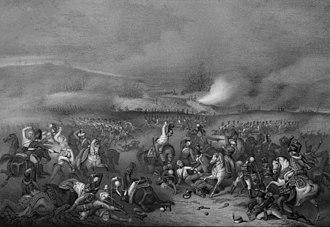 Chevalier Guard Regiment - Chevalier Guard Regiment in the Battle of Austerlitz