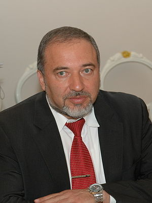Avigdor Lieberman - Lieberman in Latvia 2010