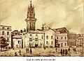 Avignon Place de l'Hôtel de Ville avant 1845.jpg