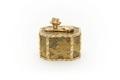 Avlång, åttasidig ask av japansk lack - Skoklosters slott - 92204.tif