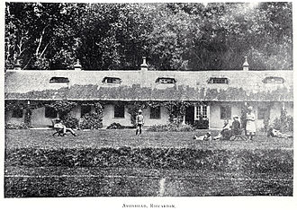 Avonhead - The former Avonhead homestead in the 1890s