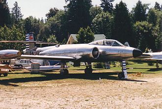 Avro Canada CF-100 Canuck - CF-100 Mk 3 at the Canadian Museum of Flight in July 1988.